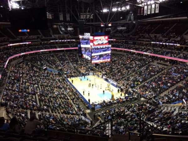 Ball Arena, secção: 328, fila: 12, lugar: 1