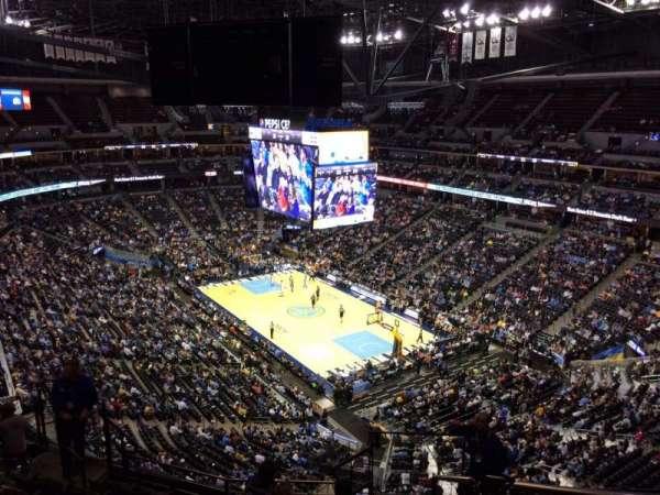 Ball Arena, secção: 330, fila: 12, lugar: 1