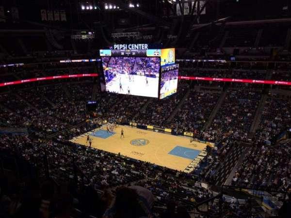 Ball Arena, secção: 336, fila: 10, lugar: 1