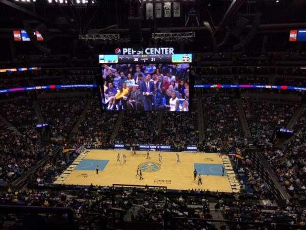 Ball Arena, secção: 340, fila: 10, lugar: 20