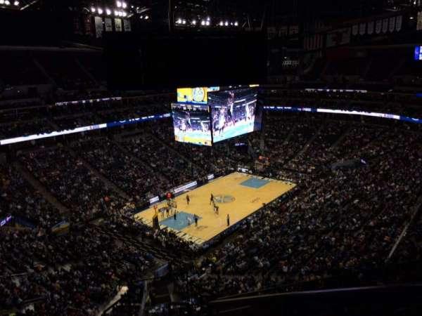 Ball Arena, secção: 354, fila: 12, lugar: 1