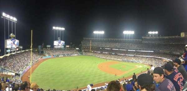 Dodger Stadium, secção: 39RS, fila: S, lugar: 21
