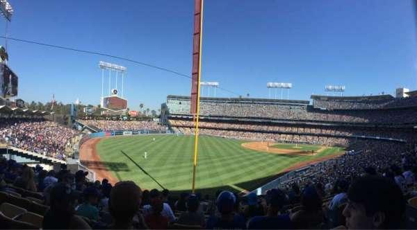 Dodger Stadium, secção: 163LG, fila: K, lugar: 5
