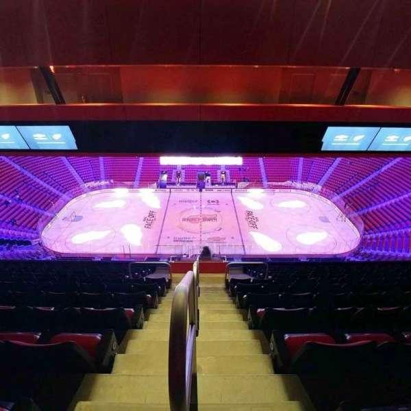 Little Caesars Arena, secção: 211, fila: 12, lugar: 21