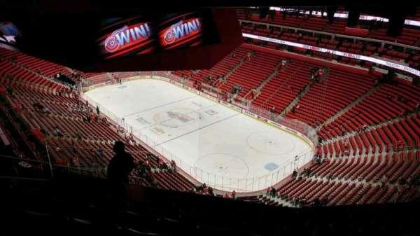 Little Caesars Arena, secção: 207, fila: 11