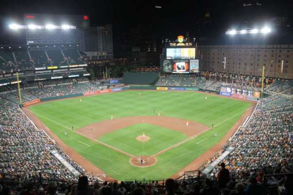 Oriole Park at Camden Yards, secção: 336, fila: 25