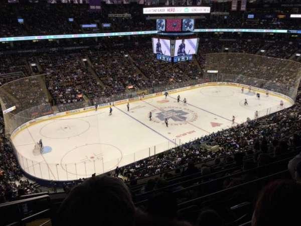 Scotiabank Arena, secção: 323, fila: 9, lugar: 25