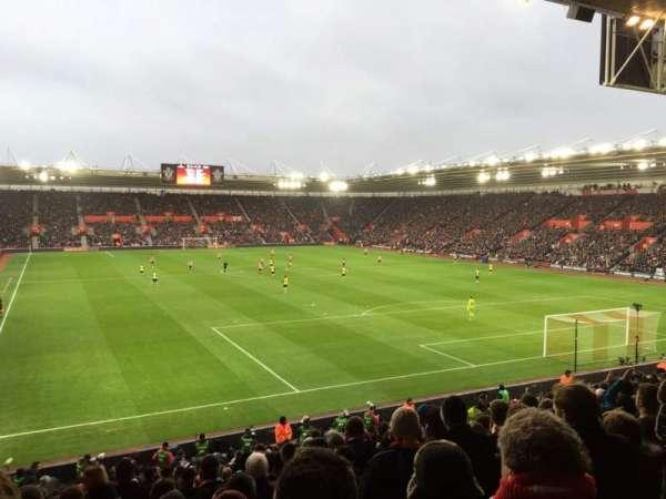 St Mary's Stadium, secção: 45, fila: Y, lugar: 1181