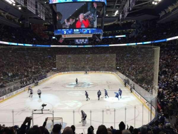 Scotiabank Arena, secção: 113, fila: 21, lugar: 9