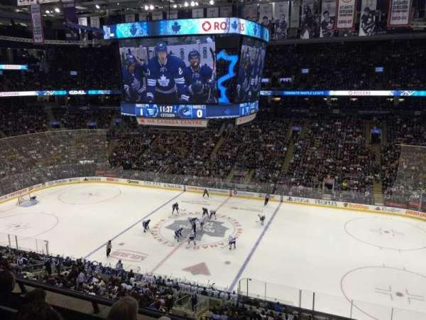 Scotiabank Arena, secção: 320, fila: 4, lugar: 5