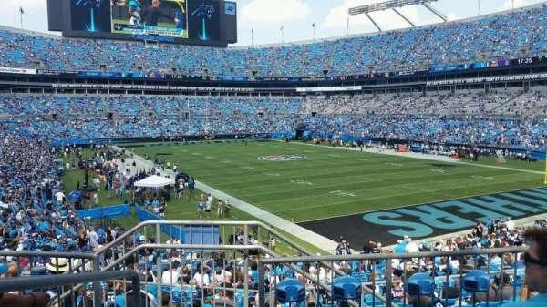 Bank of America Stadium, secção: 233, fila: 4, lugar: 20