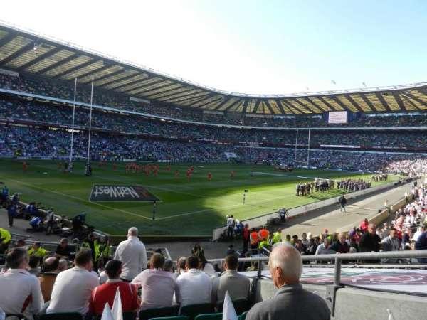 Twickenham Stadium, secção: L31, fila: 20, lugar: 28