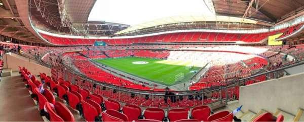 Wembley Stadium, secção: 220, fila: 11, lugar: 160