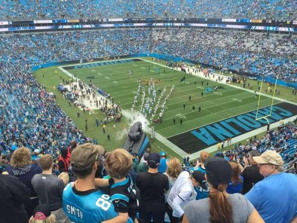 Bank of America Stadium, secção: 506, fila: 7, lugar: 15