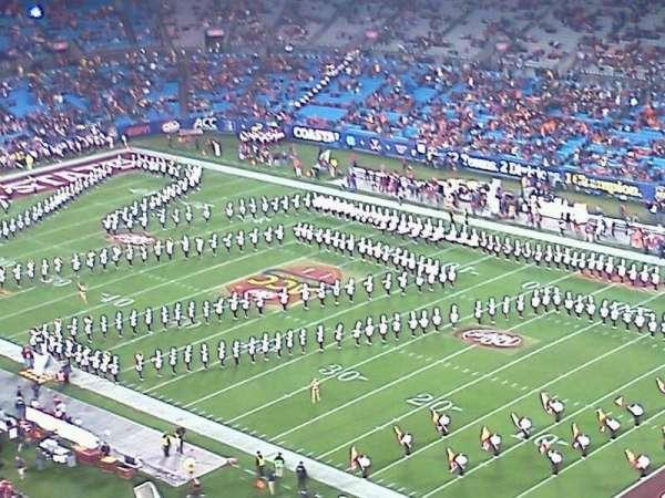 Bank of America Stadium, secção: 507, fila: 20, lugar: 6