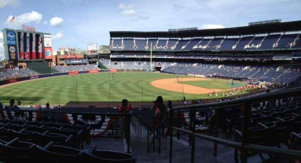 Turner Field, secção: 222, fila: 6, lugar: 101