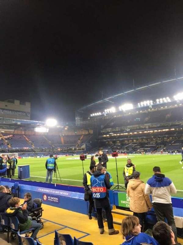 Stamford Bridge, secção: East Stand Lower 6, fila: H, lugar: 173