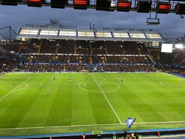 Stamford Bridge, secção: West Stand Upper 5, fila: 2, lugar: 134