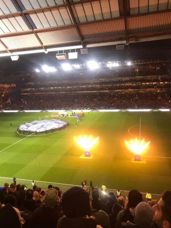 Stamford Bridge, secção: East Stand Upper, fila: 11, lugar: 18