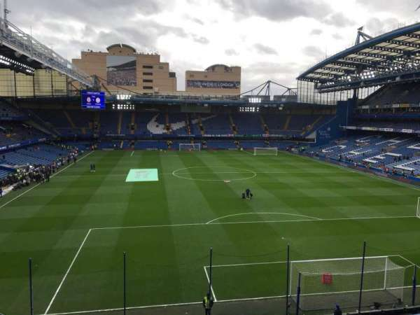 Stamford Bridge, secção: Matthew Harding Upper 13, fila: G, lugar: 109