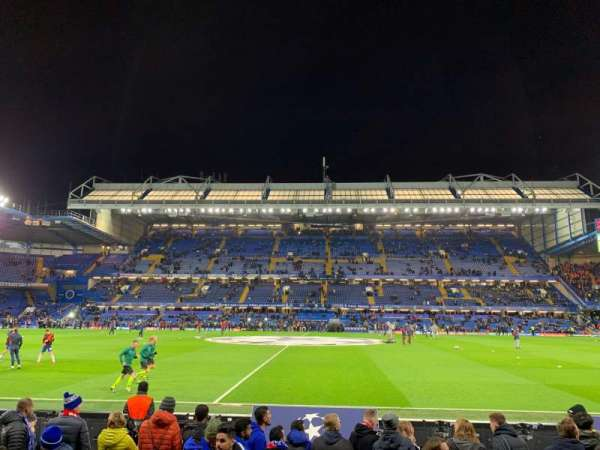 Stamford Bridge, secção: West Stand Lower, fila: 7, lugar: 101