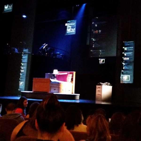 Music Box Theatre, secção: Orchestra R, fila: G, lugar: 108