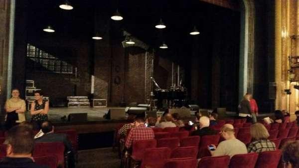 Walter Kerr Theatre, secção: Orch, fila: K, lugar: 1