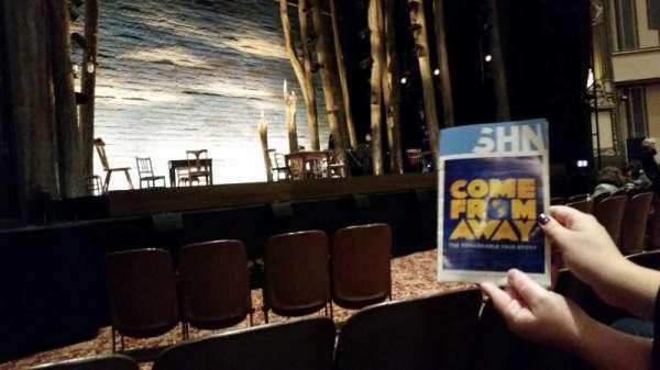 Golden Gate Theatre, secção: Orch, fila: C, lugar: 15