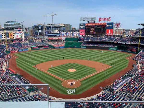 Nationals Park, secção: 314, fila: B, lugar: 18