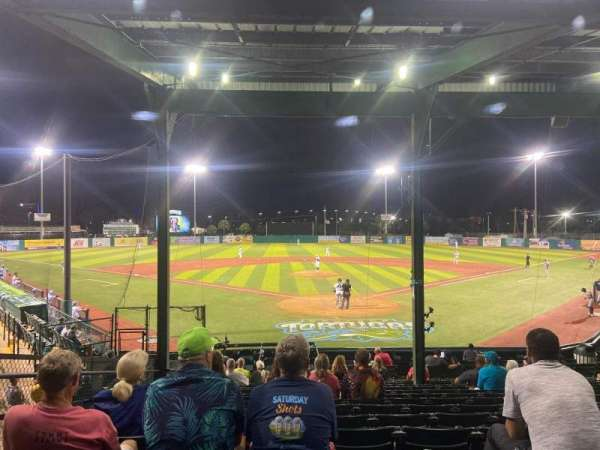 Jackie Robinson Ballpark, secção: A, fila: 15, lugar: 3