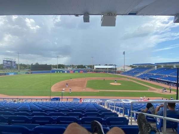 TD Ballpark, secção: 211, fila: 15, lugar: 2