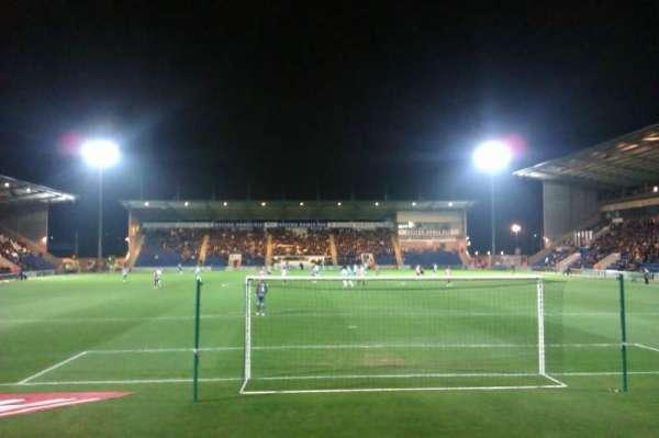 Colchester Community Stadium, secção: N3, fila: F, lugar: 78