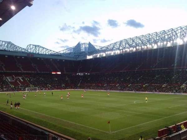 Old Trafford, secção: E231, fila: 8, lugar: 24