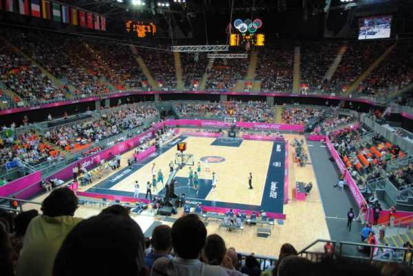 Basketball Arena, London, secção: 222, fila: 21, lugar: 81