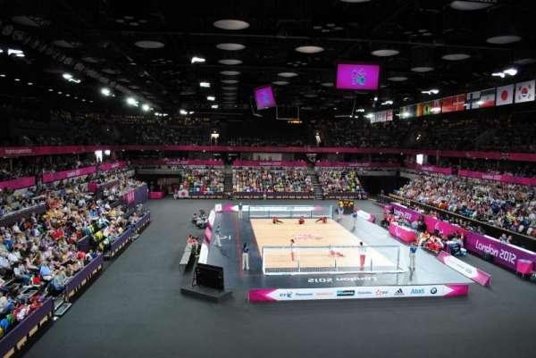 Copper Box Arena, secção: 208, fila: 11, lugar: 68