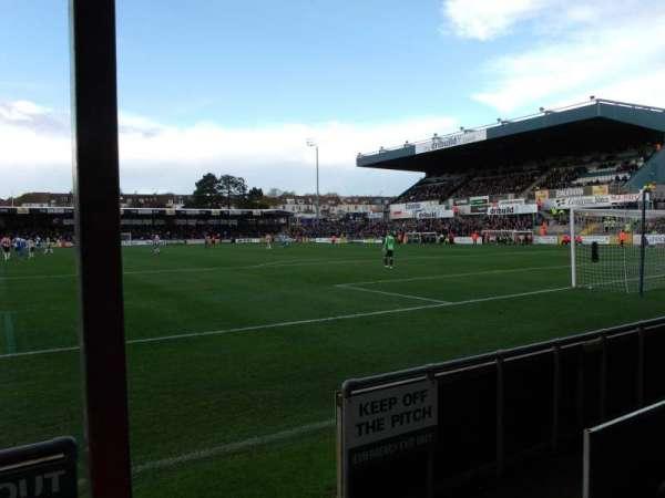 Memorial Stadium (Bristol), secção: South Stand, fila: B, lugar: 64