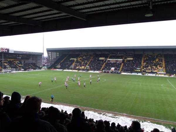 Meadow Lane, secção: X2, fila: W, lugar: 56