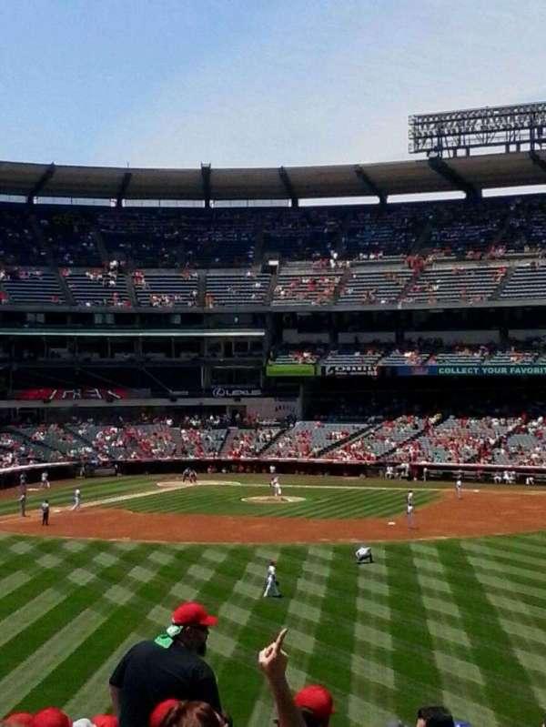 Angel Stadium, secção: P238, fila: H, lugar: 12