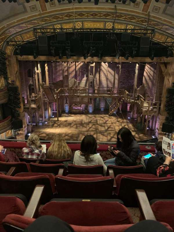 Richard Rodgers Theatre, secção: Front Mezzanine R, fila: E, lugar: 24