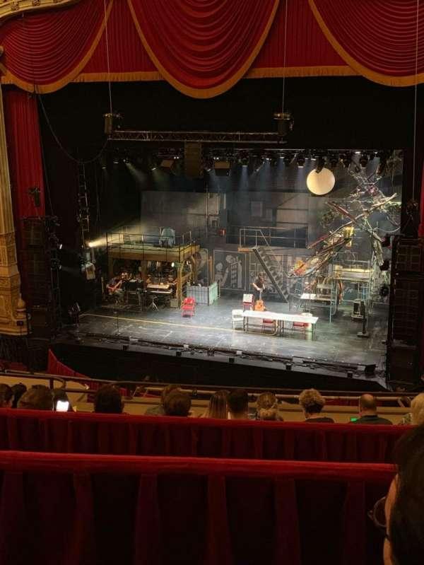 Nederlander Theatre (Chicago), secção: Balcony RC, fila: F, lugar: 336