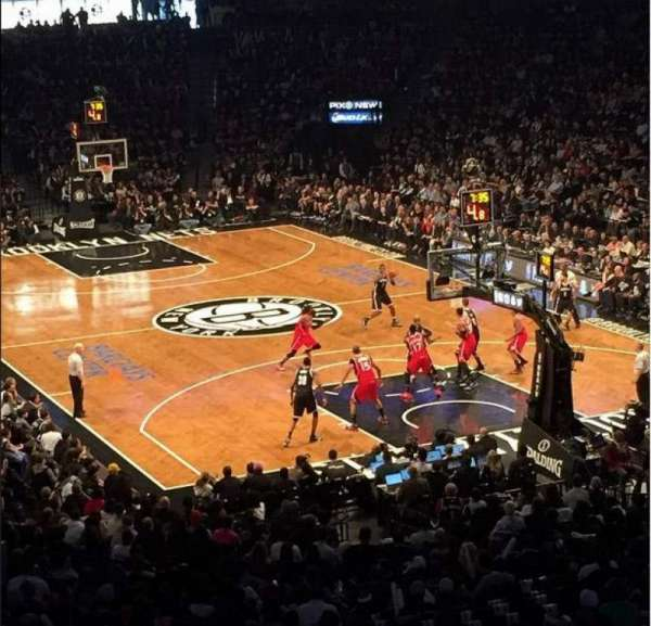 Barclays Center, secção: 118, fila: 8, lugar: 6