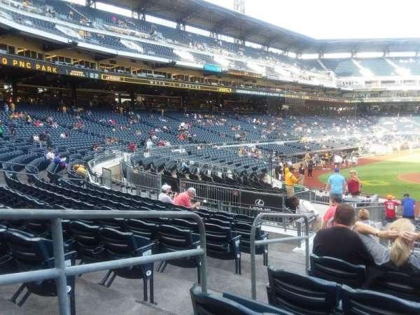 PNC Park, secção: 113, fila: J, lugar: 16