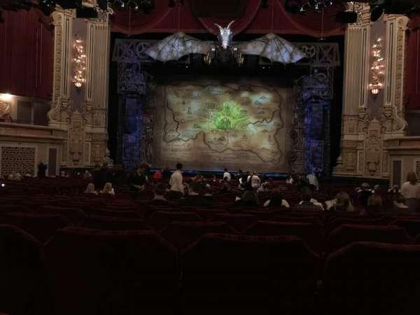 James M. Nederlander Theatre, secção: Orchestra C, fila: Y, lugar: 109