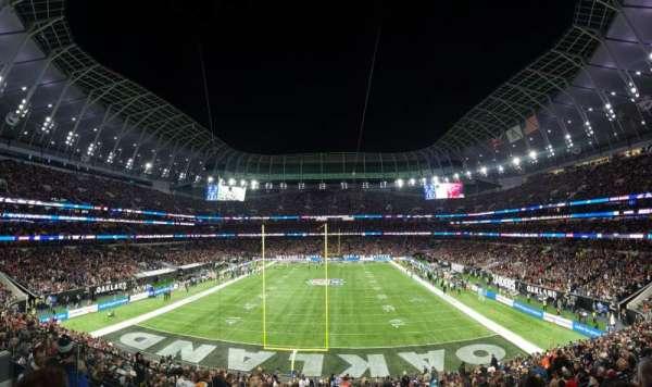 Tottenham Hotspur Stadium, secção: 254, fila: 32, lugar: 206