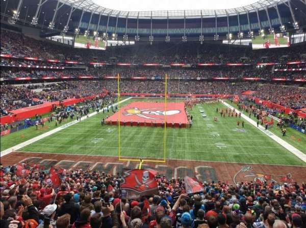 Tottenham Hotspur Stadium, secção: 254, fila: 32, lugar: 205