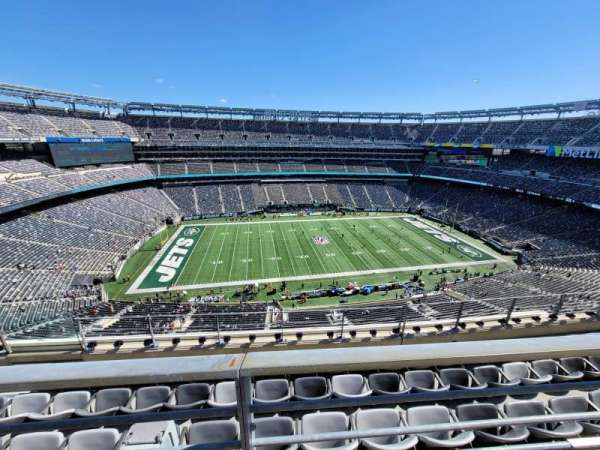 MetLife Stadium, secção: 340, fila: 5, lugar: 17