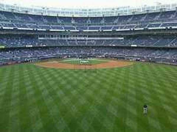 Yankee Stadium, secção: Center Field