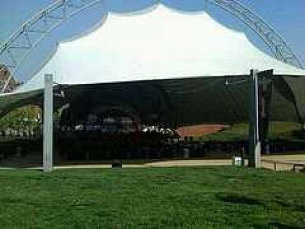 Sprint Pavilion, secção: Lawn