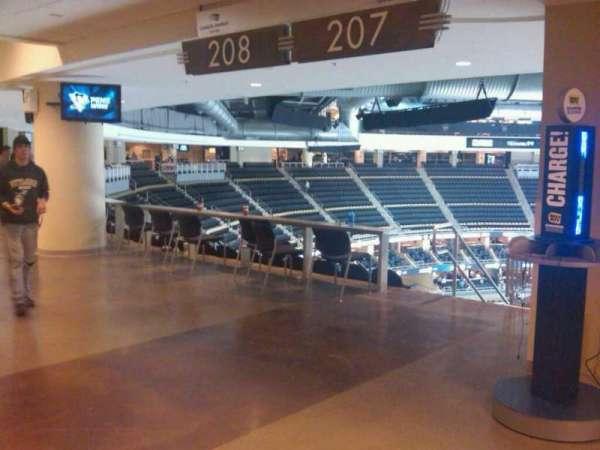 PPG Paints Arena, secção: 207