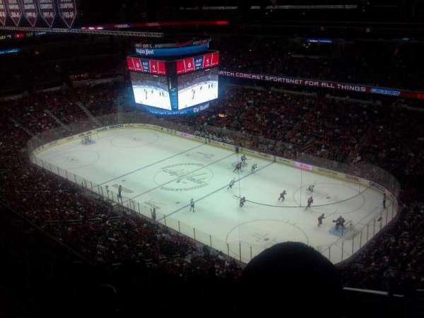 Capital One Arena, secção: 421, fila: N, lugar: 1